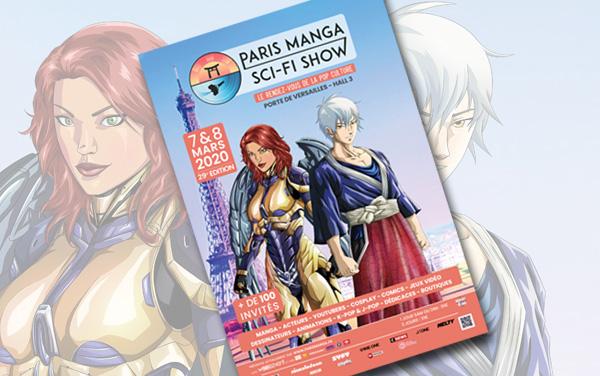 Affiche Paris Manga